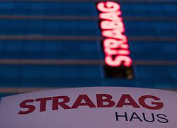 THEMENBILD - Strabag SE ist ein österreichisches Unternehmen und eines der größten Bauunternehmen Europas. Aufgenommen am 04.04.2016 in Wien, Österreich // Strabag Societas Europaea is one of the largest construction company in europe. Austria on 2016/04/04. EXPA Pictures © 2016, PhotoCredit: EXPA/ Michael Gruber