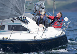 Clyde Cruising Club's Scottish Series 2019<br /> 24th-27th May, Tarbert, Loch Fyne, Scotland<br /> <br /> Day 1 - Perfect conditions to start the 45th Series.<br /> <br /> 1302C, Lyrebird, Clive Reeves, CCC, Maxi 1000<br /> <br /> Credit: Marc Turner / CCC