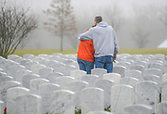 Hundreds Place Wreaths on Graves at Washington Crossing National Cemetery