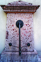 "Budapest, Hungary. The ""Music Well"" (Zenél? kút), a small pavilion on Margaret Island."