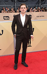 24th Annual Screen Actors Guild Awards held at the Shrine Exposition Center. 21 Jan 2018 Pictured: Dacre Montgomery. Photo credit: OConnor-Arroyo / AFF-USA.com / MEGA TheMegaAgency.com +1 888 505 6342