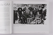 The founding fathers of the Gaelic Athletic Association. Maurice Davin is seated in the middle at the front and Michael Cusack is wearing the bowler hat in the second row.