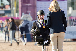 Tange Kaastrup Stinna, DEN, Horsebo Smarties<br /> FEI European Para Dressage Championships - Goteborg 2017 <br /> © Hippo Foto - Dirk Caremans