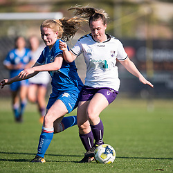 BRISBANE, AUSTRALIA - SEPTEMBER 3:  during the PlayStation 4 Women's National Premier Leagues Queensland Grand Final match between Peninsula Power and The Gap FC on September 3, 2017 in Brisbane, Australia. (Photo by Football Queensland / Patrick Kearney)