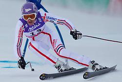 08.02.2011, Kandahar, Garmisch Partenkirchen, GER, FIS Alpin Ski WM 2011, GAP, Lady Super G, im Bild Ingrid JACQUEMOD (FRA) // Ingrid JACQUEMOD (FRA) during Women Super G, Fis Alpine Ski World Championships in Garmisch Partenkirchen, Germany on 8/2/2011. EXPA Pictures © 2011, PhotoCredit: EXPA/ J. Groder