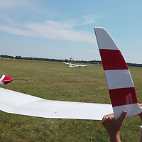 Participants attend the FAI Junior World Gliding Championships held in Szeged, Hungary on Aug. 7, 2019. ATTILA VOLGYI