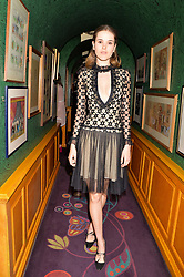 Frankie Herbert at the Annabel's Bright Young Things Party at Annabel's, Berkeley SquareLondon England. 8 June 2017.<br /> Photo by Dominic O'Neill/SilverHub 0203 174 1069 sales@silverhubmedia.com