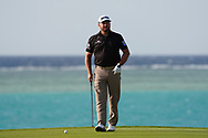 Graeme McDowell (NIR) on the 17th during Round 4 of the Saudi International at the Royal Greens Golf and Country Club, King Abdullah Economic City, Saudi Arabia. 02/02/2020<br /> Picture: Golffile   Thos Caffrey<br /> <br /> <br /> All photo usage must carry mandatory copyright credit (© Golffile   Thos Caffrey)