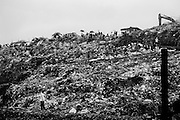 The Payatas dump site in metro Manila is a literally garbage pyramid.