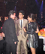 Luke Evans, Dev Patel and Frida Pinto..2011 amfAR's Cinema Against AIDS Gala Inside..2011 Cannes Film Festival..Hotel Du Cap..Cap D'Antibes, France..Thursday, May 19, 2011..Photo By CelebrityVibe.com..To license this image please call (212) 410 5354; or.Email: CelebrityVibe@gmail.com ;.website: www.CelebrityVibe.com.**EXCLUSIVE**