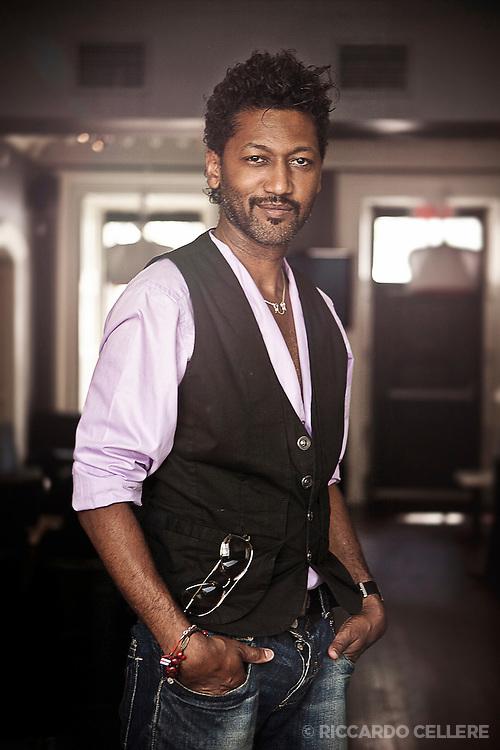 Portrait photography. Angelo Cadet. 2011.