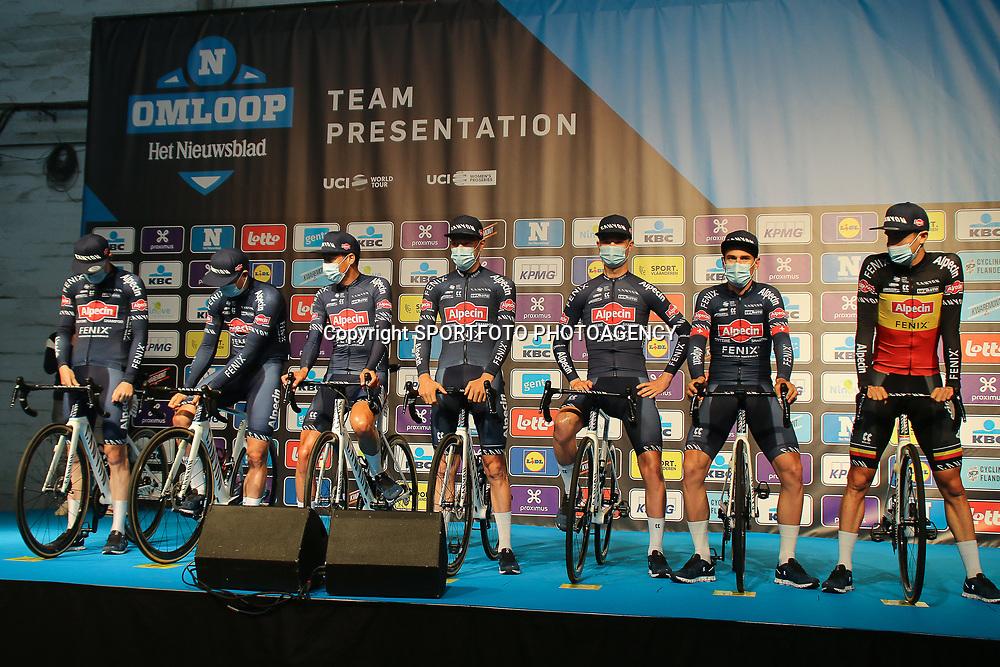 27-02-2021: Wielrennen: Omloop Het Nieuwsblad - Mannen: Gent<br />Team Alpecin