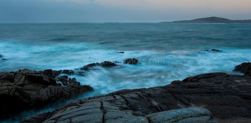 The Atlantic coast of Ireland, Connemara, Co. Galway