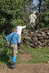 Start Of Gorilla Trecking
