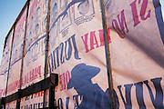 """Protestas por la desaparición forzada de 43 estudiantes de la Escuela Normal Rural """"Raúl Isidro Burgos"""" ocurrida el 26 de septiembre de 2014. <br /> Tijuana, Baja California, 26 de marzo de 2015.<br /> (Foto: Prometeo Lucero)"""