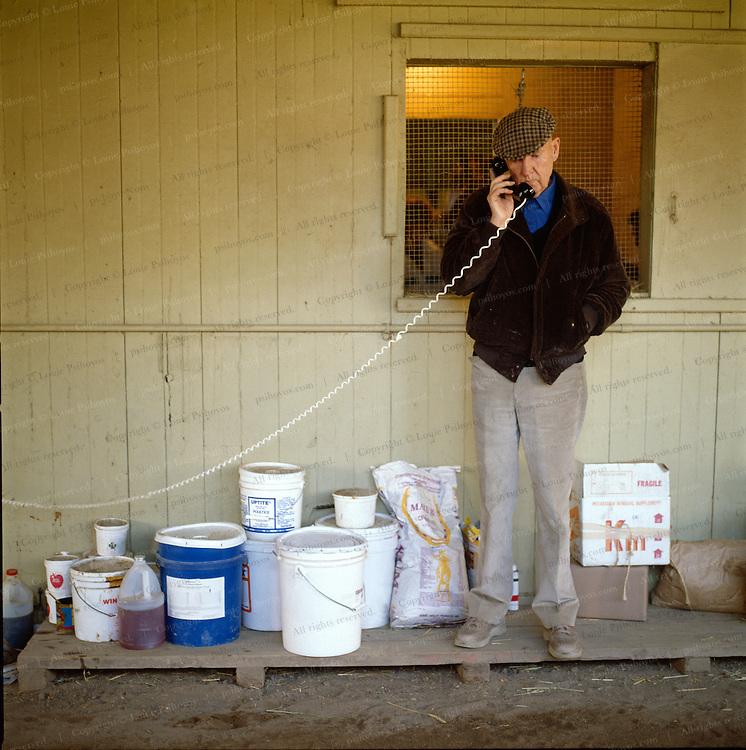 Charlie Winningham, horse trainer.