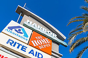 Harbor Center Signage Costa Mesa California