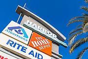 Harbor Center Signage Costa Mesa California