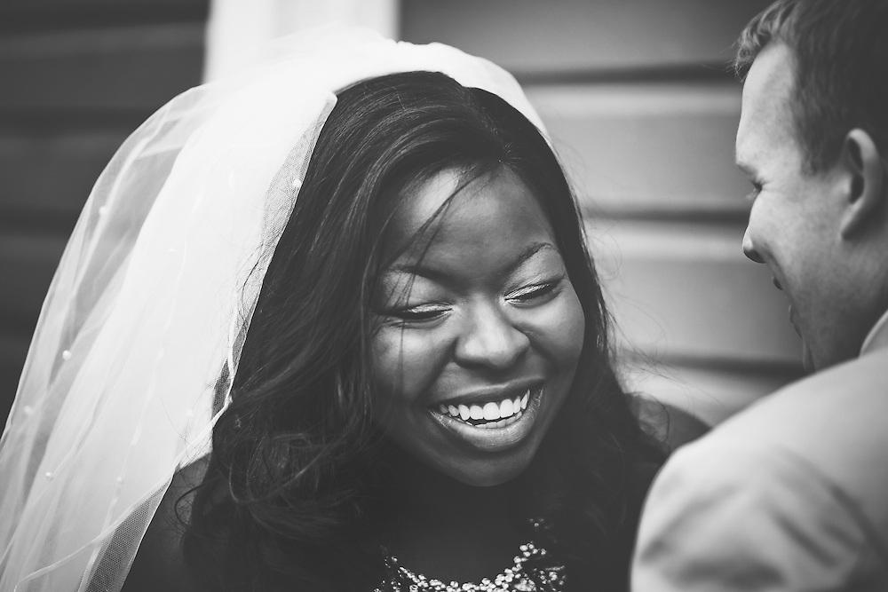 Wedding Photos by Connie Roberts Photography<br /> Happy Bride