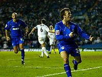 Fotball<br /> England 2004/2005<br /> Foto: BPI/Digitalsport<br /> NORWAY ONLY<br /> <br /> Leeds United v Millwall<br /> Coca Cola Championship. <br /> 19/12/2004.<br /> <br /> Jody Morris celebrates his equaliser for Millwall.