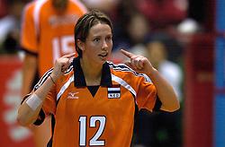 17-06-2000 JAP: OKT Volleybal 2000, Tokyo<br /> Nederland - Italie 2-3 / Elles Leferink