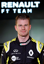 Nico Hulkenberg during the Renault F1 Team 2019 season launch at Whiteways Technical Centre, Oxford.
