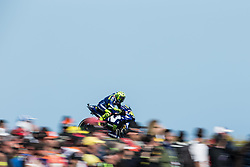 October 28, 2018 - Melbourne, Victoria, AUSTRALIE - VALENTINO ROSSI - ITALIAN - MOVISTAR YAMAHA MotoGP - YAMAHA (Credit Image: © Panoramic via ZUMA Press)
