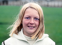 Shauna Kyle, Ballymena, N Ireland, athlete, 200m, 400m, daughter of Maeve Kyle, herself an athlete and currently a sports administrator. August 1969. 196908000212a<br /> <br /> Copyright Image from Victor Patterson, 54 Dorchester Park, Belfast, UK, BT9 6RJ<br /> <br /> t1: +44 28 9066 1296 (from Rep of Ireland 048 9066 1296)<br /> t2: +44 28 9002 2446 (from Rep of Ireland 048 9002 2446)<br /> m: +44 7802 353836<br /> <br /> victorpatterson@me.com<br /> www.victorpatterson.com<br /> <br /> Please see my Terms and Conditions of Use at victorpatterson.com . It is IMPORTANT that you familiarise yourself with them.<br /> <br /> Images used on the Internet incur an additional cost and must be visibly watermarked i.e. ©Victor Patterson within the body of the image and copyright metadata must not be deleted. Images used on the Internet have a size restriction of 4kbs and are chargeable at rates available at victorpatterson.com.<br /> <br /> This image is only available for the use of the download recipient i.e. television station, newspaper, magazine, book publisher, etc, and must not be passed on to any third party. It is also downloaded on condition that each and every usage is notified within 7 days to victorpatterson@me.com<br /> <br /> The right of Victor Patterson to be identified as the author is asserted in accordance with The Copyright Designs And Patents Act (1988). All moral rights are asserted.