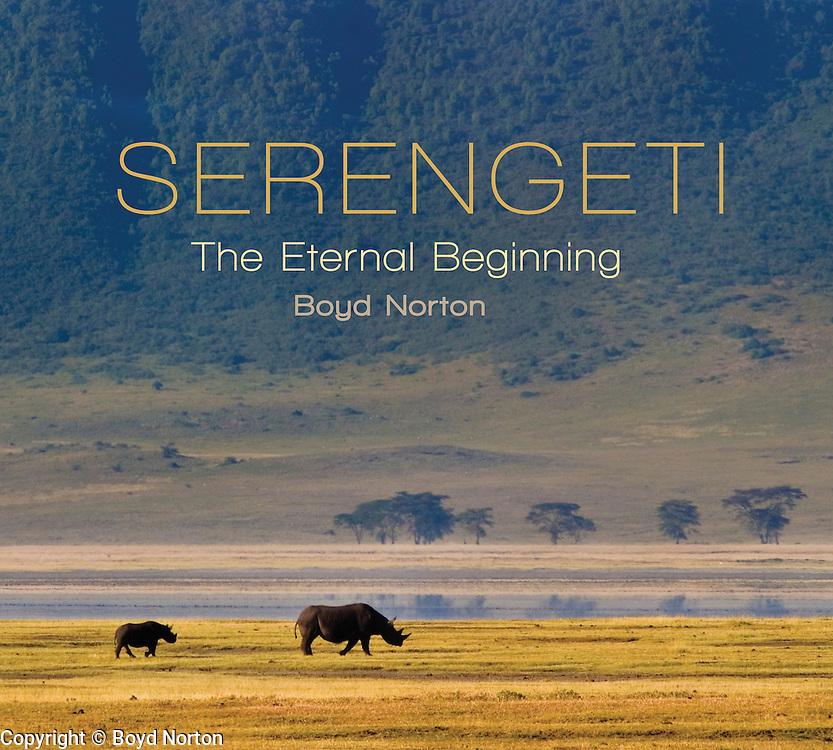 Serengeti book cover.
