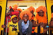 Supporters at the world cup soccer in South Africa<br /> Supporters tijdens het WK Voetbal in Zuid-Afrika