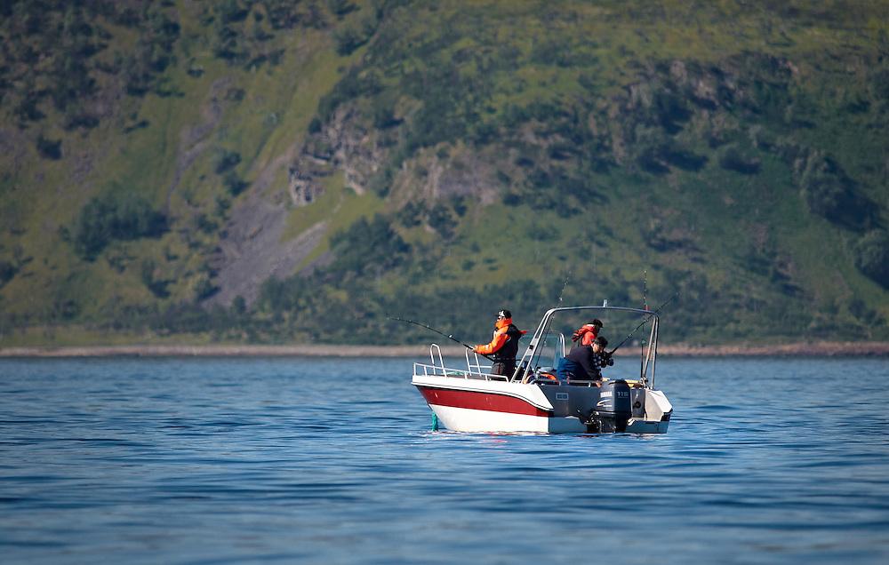 Norway - Fishing in Langfjord