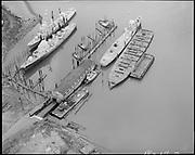 "Ackroyd 18218-2 ""Shaver Transportation Co. March 26, 1973""  (Shaver docks. Shipbreaking.)"