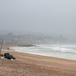 Storm Ciara causes havoc in the uk but not for some as surfers take to the wave 09/02/2020 Dorset Weymouth UK Storm Ciara Hits the UK but for some its time to hit the surf Weymouth And Portland Dorset 09/02/2020 Storm Ciara hits the UK, but for some its surf as normal Storm Ciara hits the UK for some on the Dorset coast its surf as usual Weymouth England (Photo by Steven Brennan