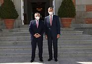 051121 King Felipe VI attends a meeting with Alberto Fernandez