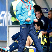 Fenerbahce's coach Christoph DAUM during their Turkish superleague soccer match Kasimpasaspor between Fenerbahce at the Recep Tayyip Erdogan stadium in Istanbul Turkey on Sunday 25 April 2010. Photo by Aykut AKICI/TURKPIX