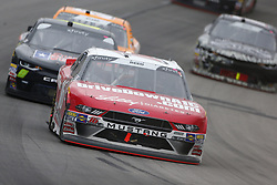 April 7, 2018 - Ft. Worth, Texas, United States of America - April 07, 2018 - Ft. Worth, Texas, USA: Ryan Reed (16) races down the front stretch during the My Bariatric Solutions 300 at Texas Motor Speedway in Ft. Worth, Texas. (Credit Image: © Stephen A. Arce/ASP via ZUMA Wire)