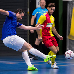 BRISBANE, AUSTRALIA - JULY 23:  during the Series Futsal Queensland Round 6 match between South Brisbane FC and QLD Persian Stars Futsal on July 23, 2017 in Brisbane, Australia. (Photo by Patrick Leigh Perspectives)