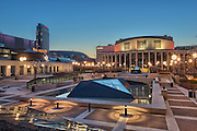 Place Des Arts, Quartier des Spectacles, Downtown Montreal, Quebec, Canada