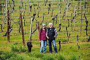 Terri & Ted Gerber owner of Foris Winery & VineyardsForis Vineyards in the Illinois Valley