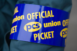 Arm band on official PCS picket,