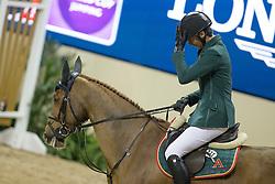 Guerdat Steve, (SUI), Albfueren S Paille<br /> Longines FEI World Cup™ Jumping Final III round 2<br /> Las Vegas 2015<br />  © Hippo Foto - Dirk Caremans<br /> 19/04/15