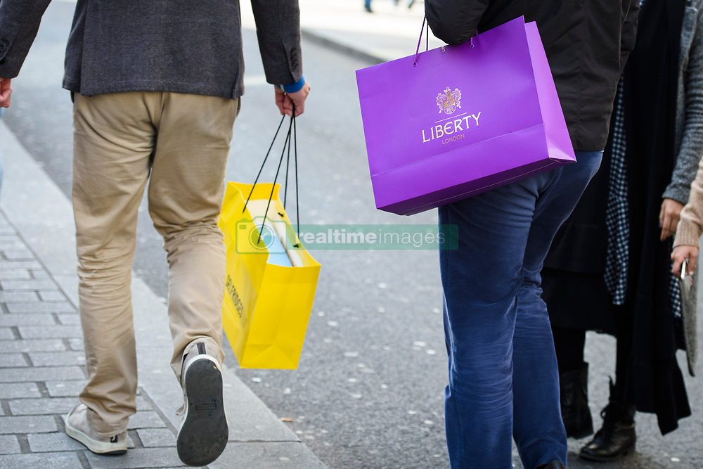 Shoppers on Oxford Street, London. Picture date: Saturday March 4th, 2017. Photo credit should read: Matt Crossick/ EMPICS Entertainment.