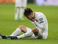 England's Adam Lallana looks on dejected<br /> <br /> - International European Qualifier - England vs Slovenia- Wembley Stadium - London - England - 15th November 2014  - Picture David Klein/Sportimage