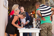 Riders, crew and other guests celebrate the success of the 2015 ABSA Cape Epic during Stage 9 of the 2015 ABSA Cape Epic, held at The Grand in Cape Town on the evening of the 22nd of March 2015. Image by Greg Beadle