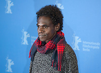 Actor Jacob Junior Nayinggul at the photocall for the film High Ground at the 70th Berlinale International Film Festival, on Sunday 23rd February 2020, Hotel Grand Hyatt, Berlin, Germany. Photo credit: Doreen Kennedy