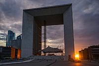 La Grande Arche @ Sunset