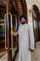 Doorman, Hotel the Royal Plaza, New Delhi, India.