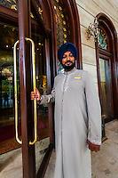Doorman, Hotel the Royal Plaza, New Delhi, India.