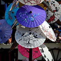 Chinese Umbrellas, Renaissance Festival, Pittsburgh PA