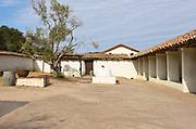 Inner Courtyard at La Purisima Mission